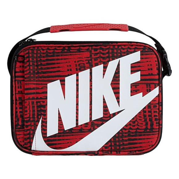 New Nike Big Logo Insulated Lunch Bag Lunch Box